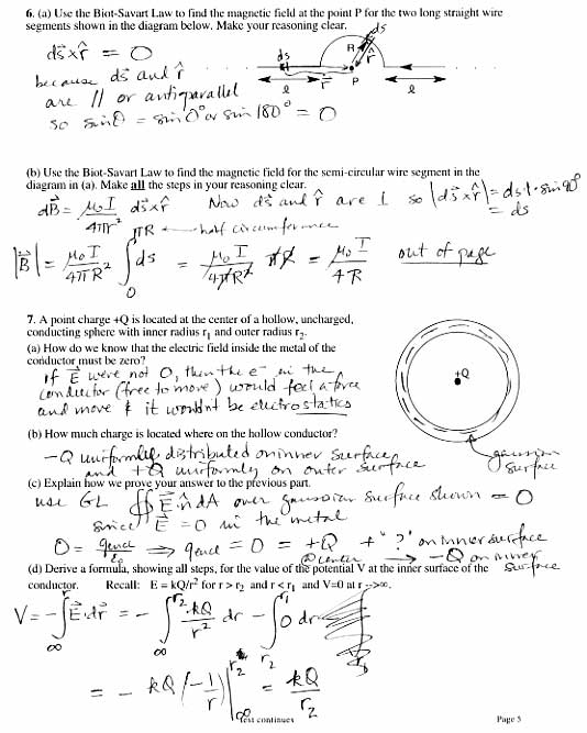 SPSP 313 Daily classes 072 – Electric Field Worksheet