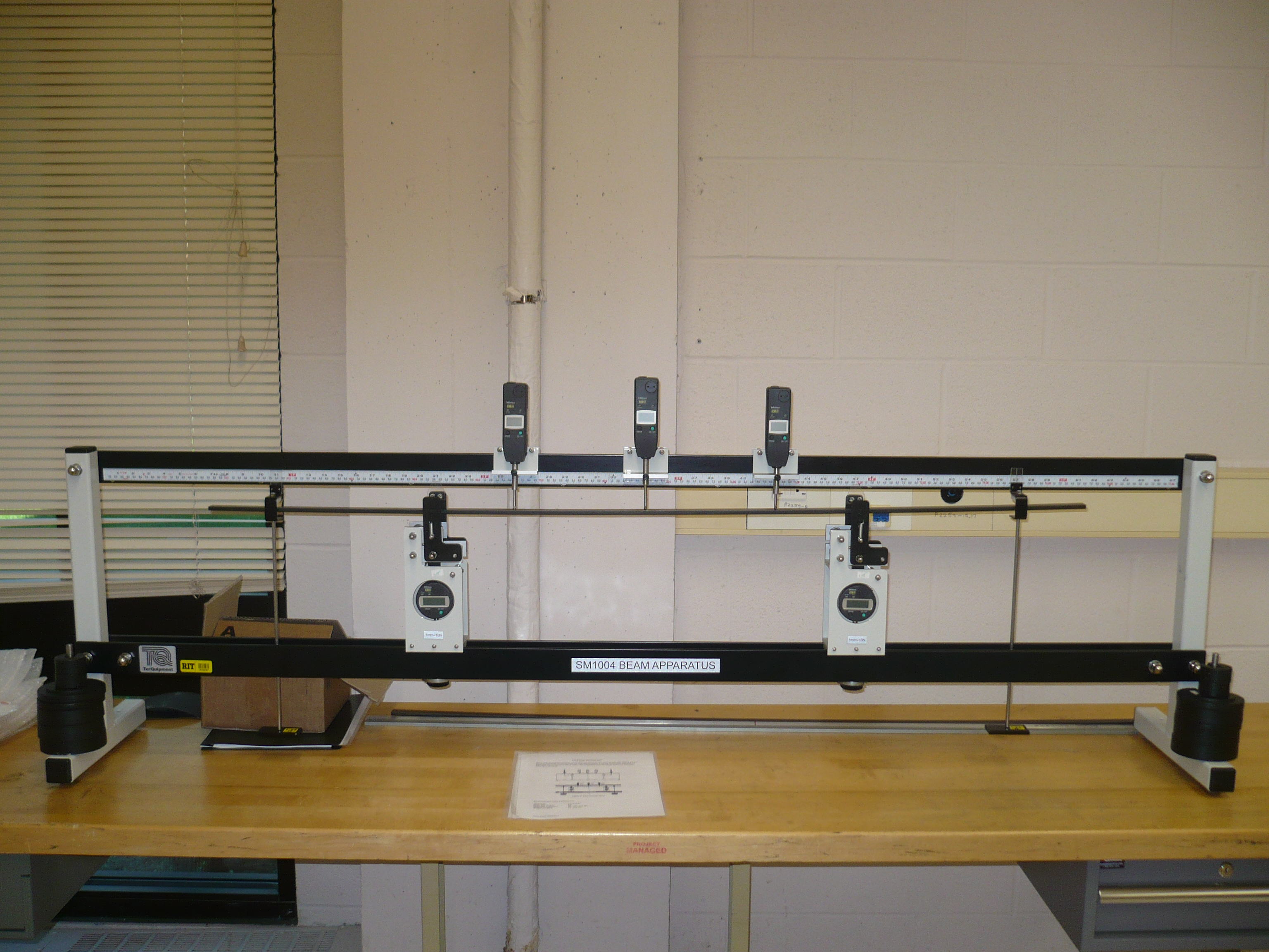 Curvature In Four Point Bending Test