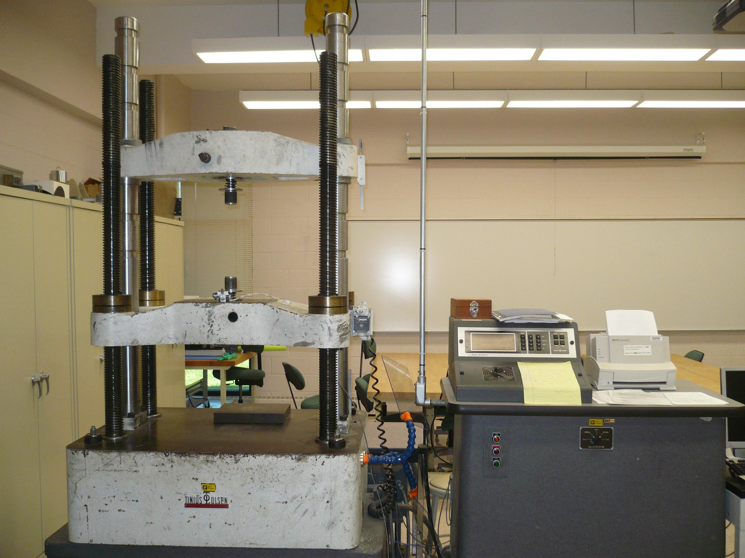lab test tensile testing