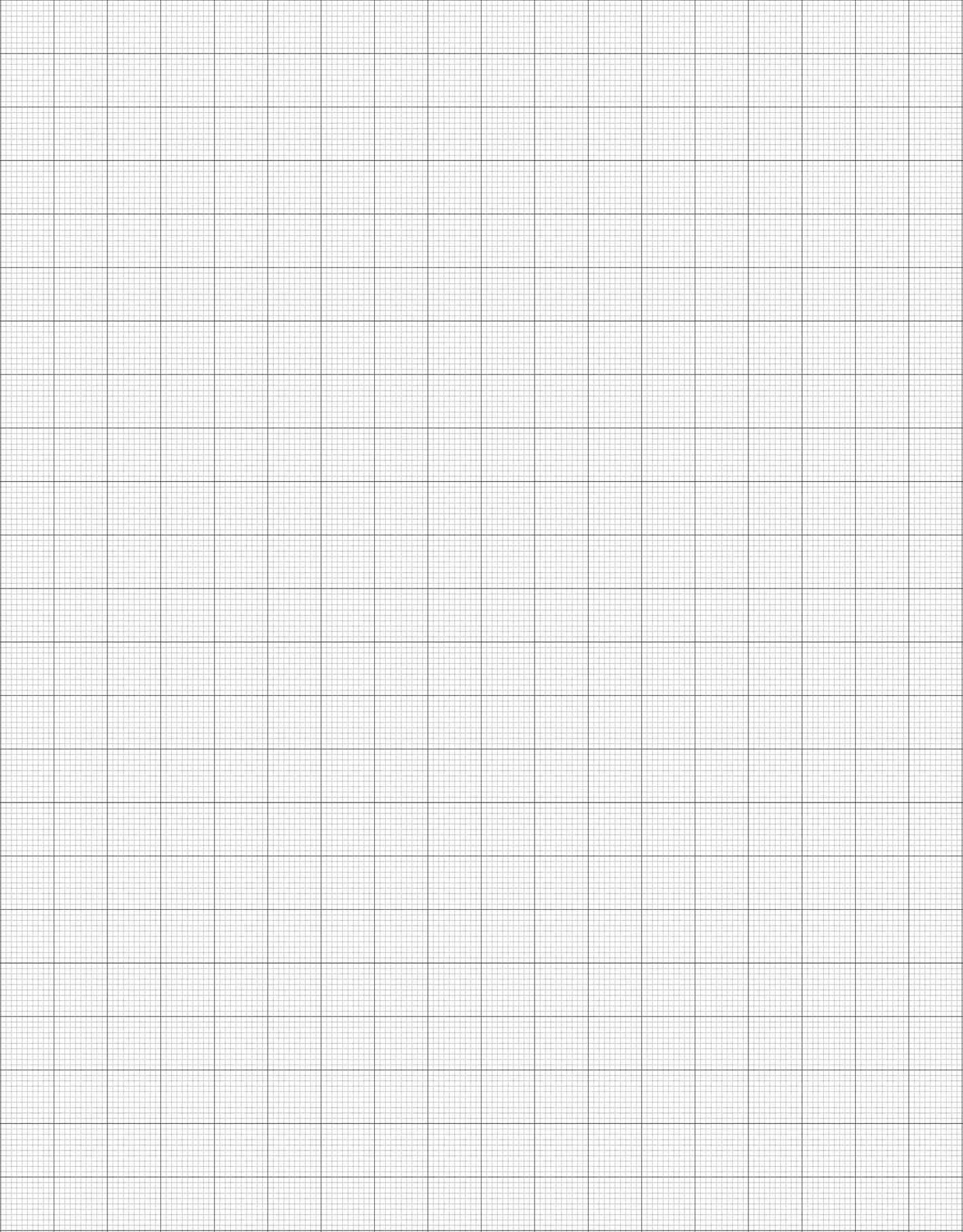 1 cm graph