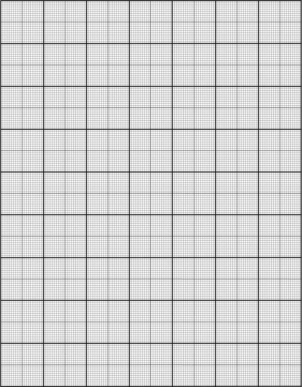 20 square per inch Graph Paper for Photographic Applications – Download Graph Paper for Word