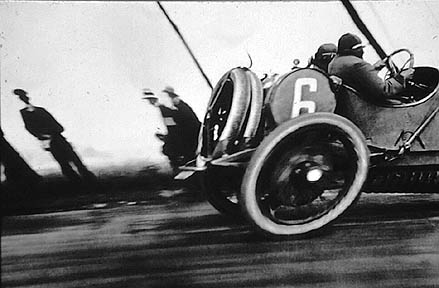 Henri Lartigue Race Car.