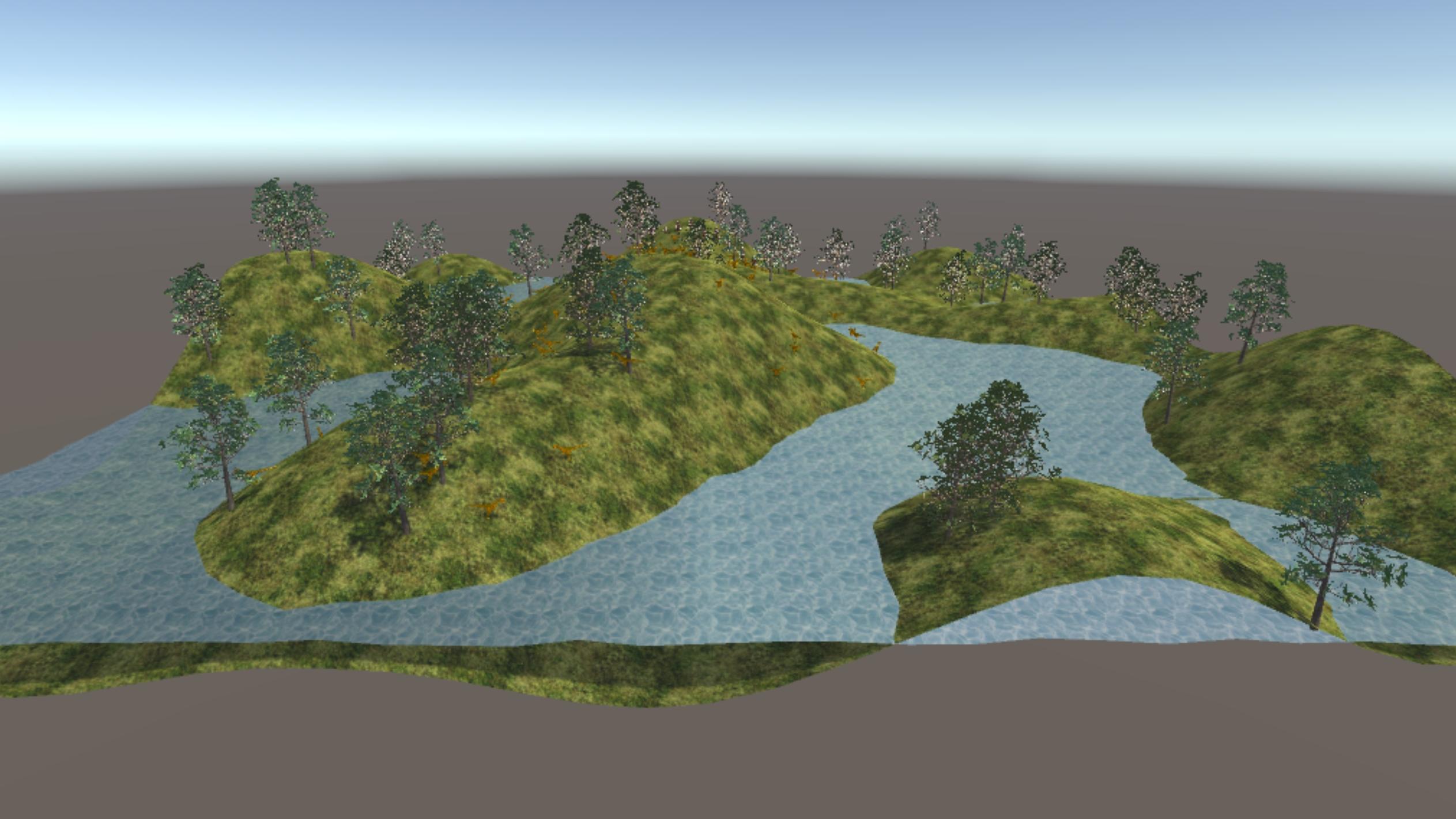 Jared White - Portfolio - Unity Terrain & Water Generator