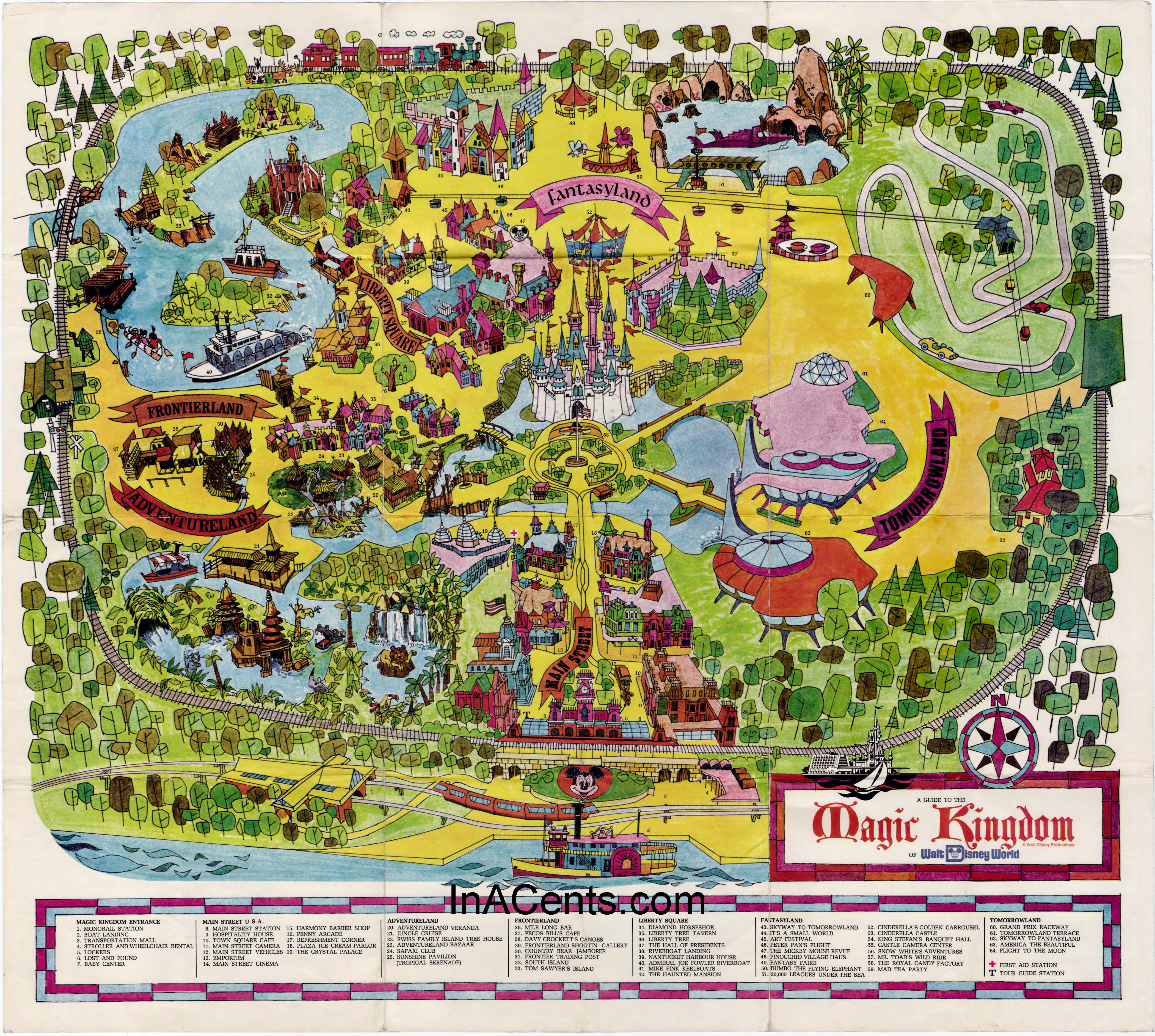 History take a look at how much disney has grown from 1971 to 2017 gumiabroncs Image collections