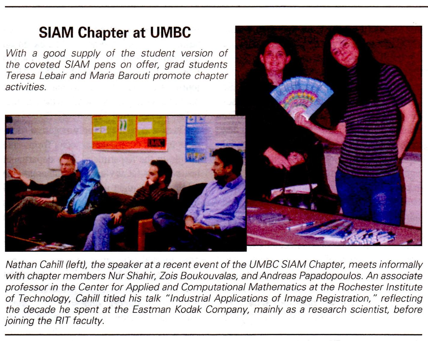 SIAM News Picture