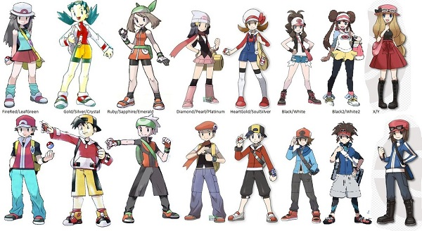 Pokemon And Y Anime Characters Names : How to be a pokemon trainer