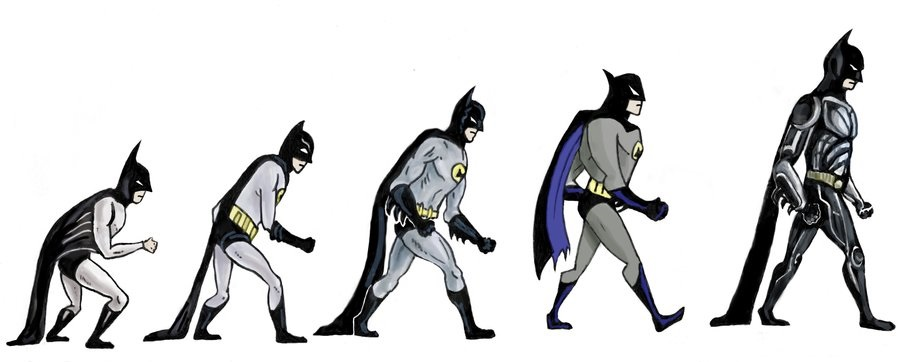 evolution  sc 1 st  RIT - People : batman costume evolution  - Germanpascual.Com